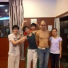Isaac Hou (China's Got Talent winner) in our academy (胡启志在我们学校)