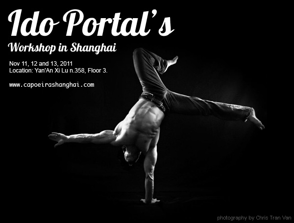 Ido Portal Workshop in Shanghai