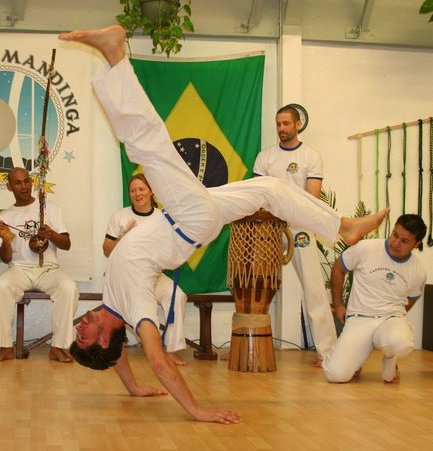 Instrutor Pezao / Capoeira Mandinga Shanghai